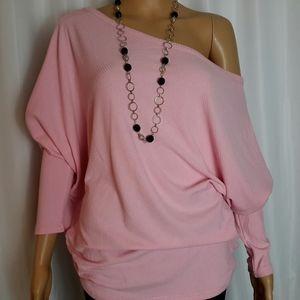 Pink Sweater Oversize M